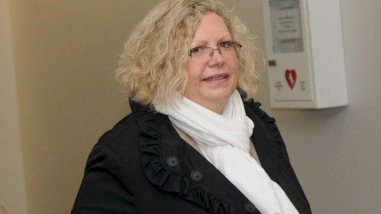 Former American Red Cross employee Deborah Leggio, who