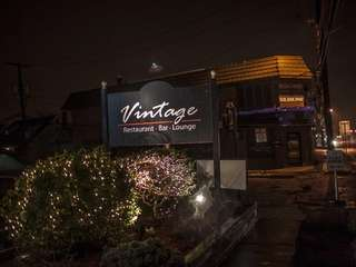 Vintage -- which is subtitled restaurant, bar, lounge