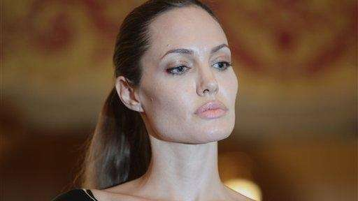 Angelina Jolie, in her role as special envoy