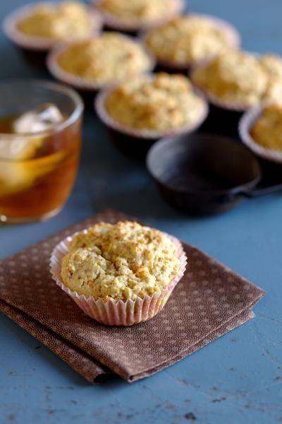 The peach muffins recipe can be found in