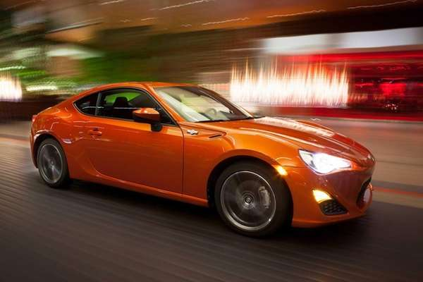 The 2013 Scion FR-S breaks away from the