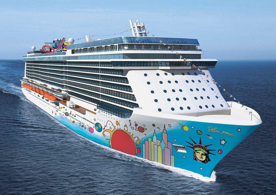 Norwegian Breakaway is Norwegian Cruise Lines' new 4,000