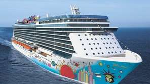 Norwegian Breakaway is Norwegian Cruise Lines' new 4,000