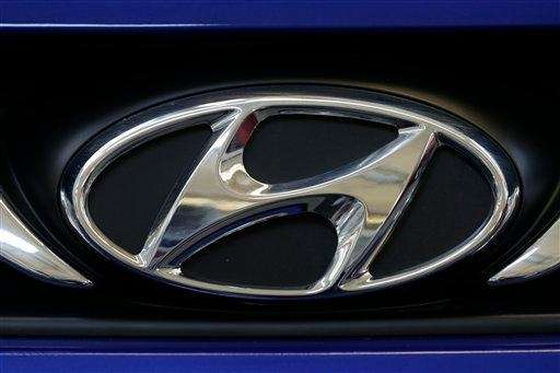 The Hyundai logo appears on the on grill