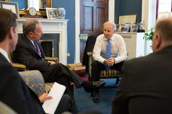 Vice President Joe Biden meets with New York