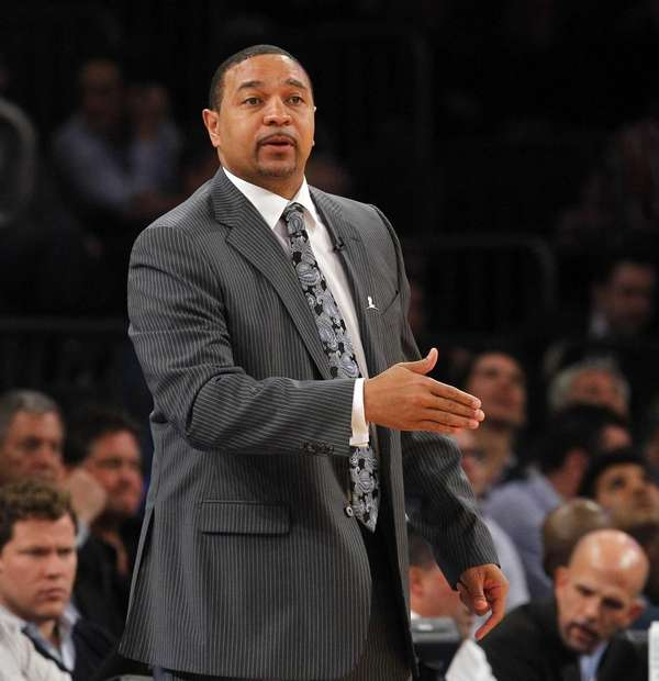 Head coach Mark Jackson of the Golden State