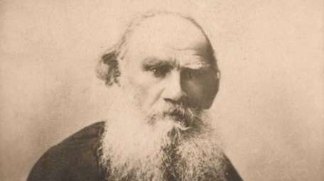 "Leo Tolstoy, author of ""War and Peace""."