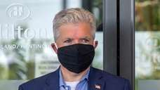 Suffolk County Executive Steve Bellone on July 9,