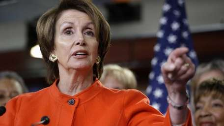 In this file photo, House Minority Leader Nancy