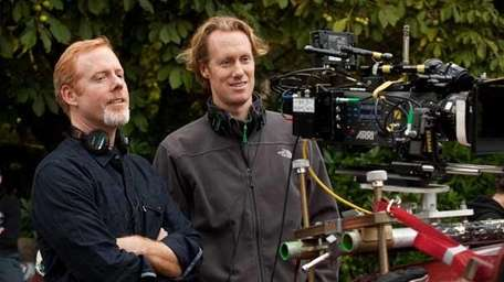 From left, directors Scott Moore and Jon Lucas