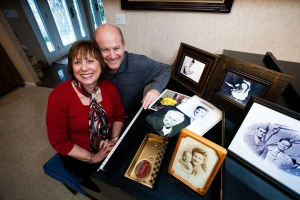 Allen Schwartz retired and restores family photos for