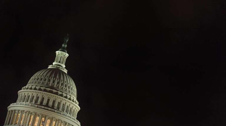 The Capitol Dome in Washington, DC.