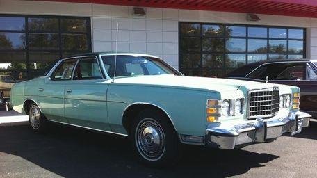 The 1978 Ford LTD four-door pillared hardtop is