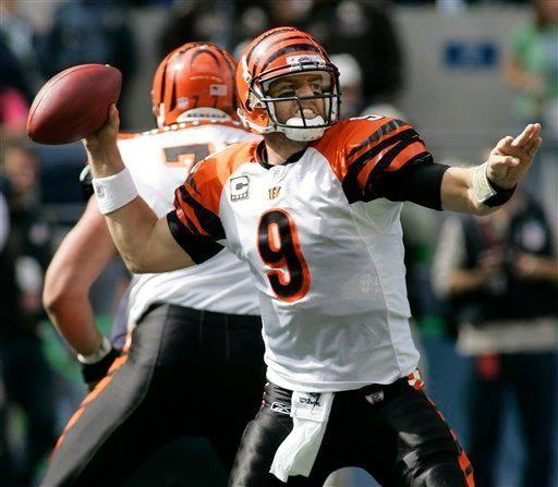 2003: CARSON PALMER, QB, Cincinnati Bengals Palmer has