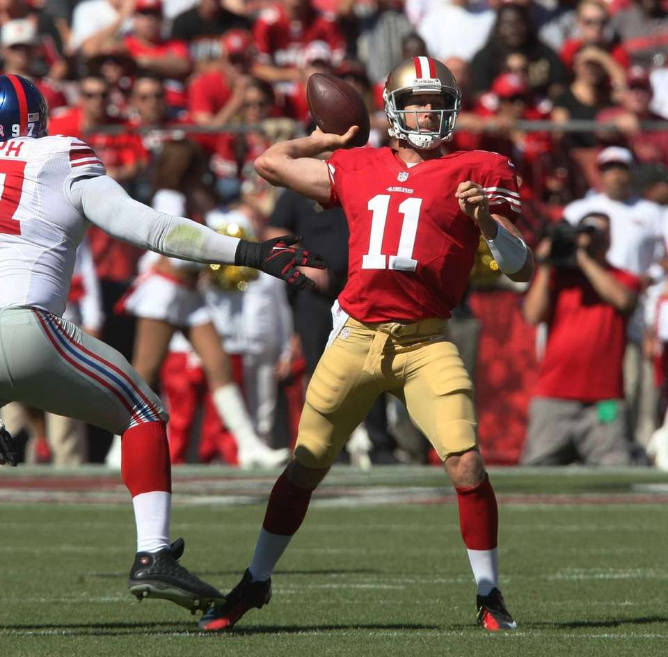 2005: ALEX SMITH, QB, San Francisco 49ers Smith