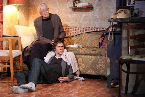Vanessa Redgrave and Jesse Eisenberg star in Rattlestick