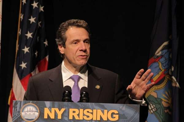 Gov. Andrew M. Cuomo delivers a State of