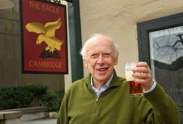 Dr. James Watson, a co-discoverer of DNA's double