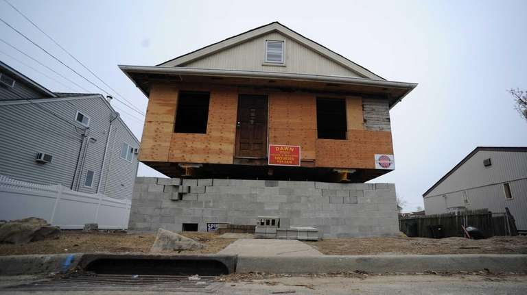 A house under construction in Seaford. (Jan. 21,