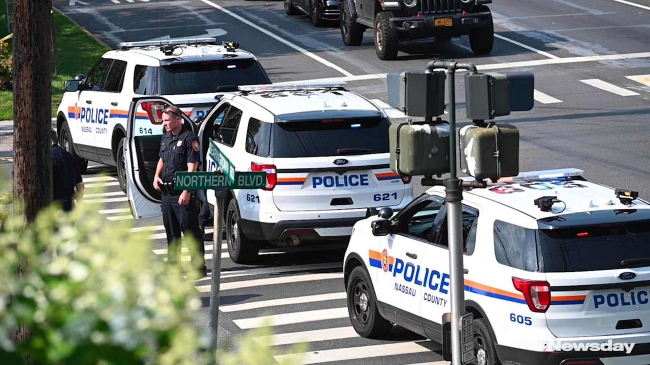 Nassau County police are investigating a shooting inthe