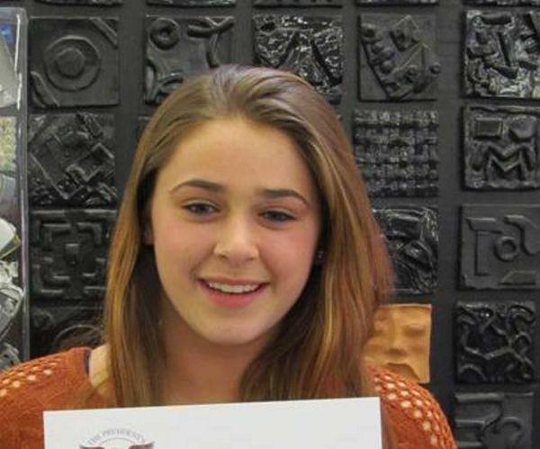 Stefanie Kaufman received the President's Volunteer Service Award