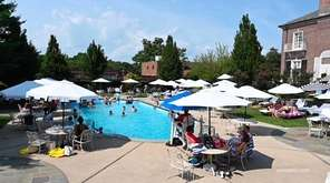 Families are booking staycations at hotels with pools