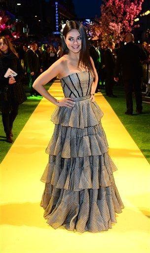 Mila Kunis attends Walt Disney Pictures' European premiere