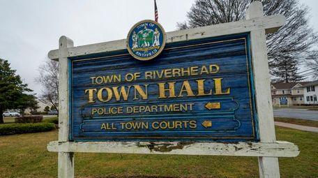 Riverhead Town Hall in Riverhead on Thursday, Feb.