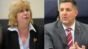 Kathy Walsh and Dan Losquardo, candidates for the