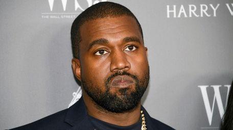 Kanye West on Nov. 6.