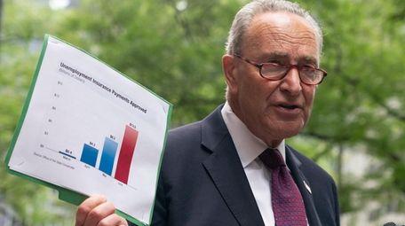 Sen. Chuck Schumer (D-N.Y.) calls on Senate Majority