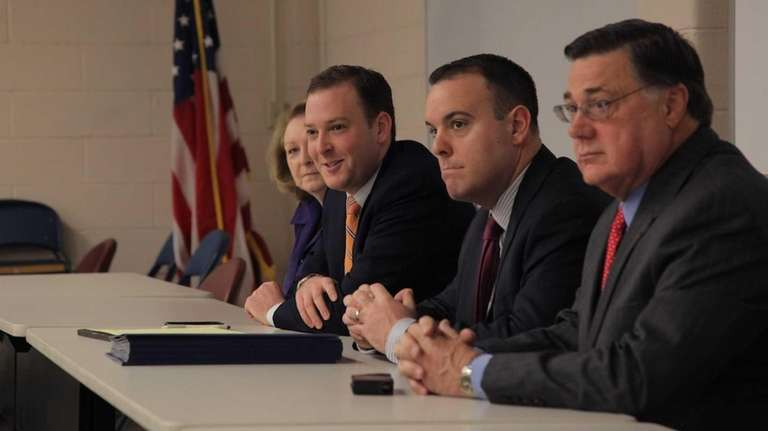 Senator Lee Zeldin and Brookhaven lawmakers announced new