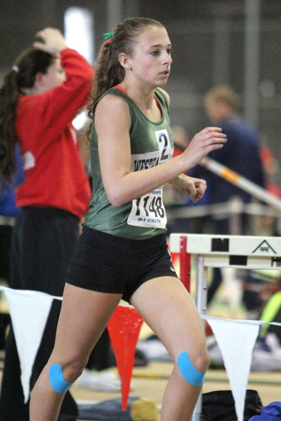 Westhampton Beach's Annica Penn competes during her win