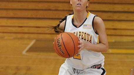 Massapequa's Danielle Doherty sets to shoot against Uniondale