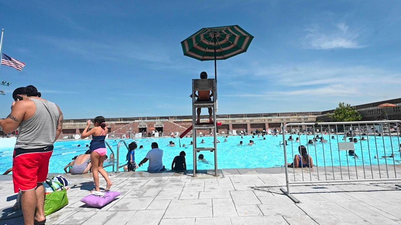 A lifeguard's job is hard enough during normal