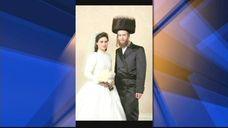 Couple Raizy and Nachman Glauber, both 21, were