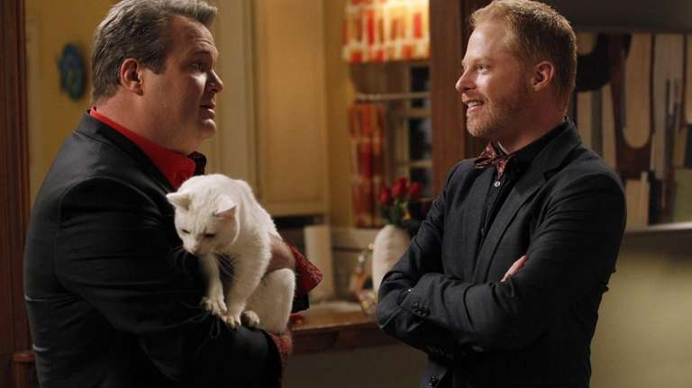 Eric Stonestreet, left, and Jesse Tyler Ferguson in