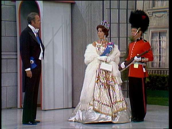 Carol Burnett stars with Harvey Korman, left, and