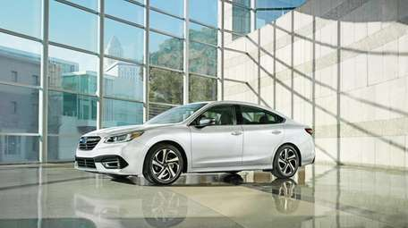 The Subaru Legacy gets a redesign for the