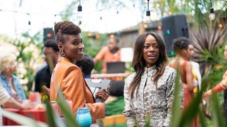 This image released by HBO shows Issa Rae,