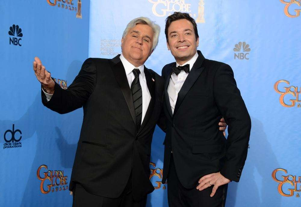 Jimmy Fallon took over for Jay Leno as