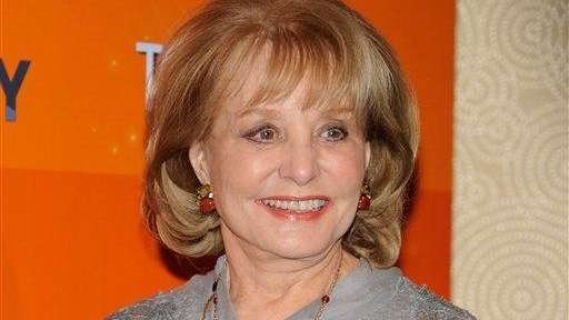 Barbara Walters returned to