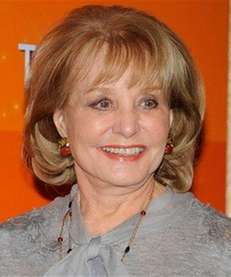 "Barbara Walters returned to ""The View"" on March"