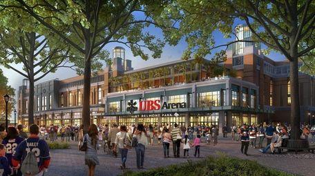 UBS Arena rendering.