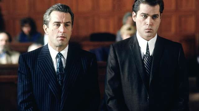Robert De Niro, left, and Ray Liotta star