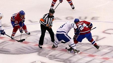 John Tavares of the Toronto Maple Leafs and