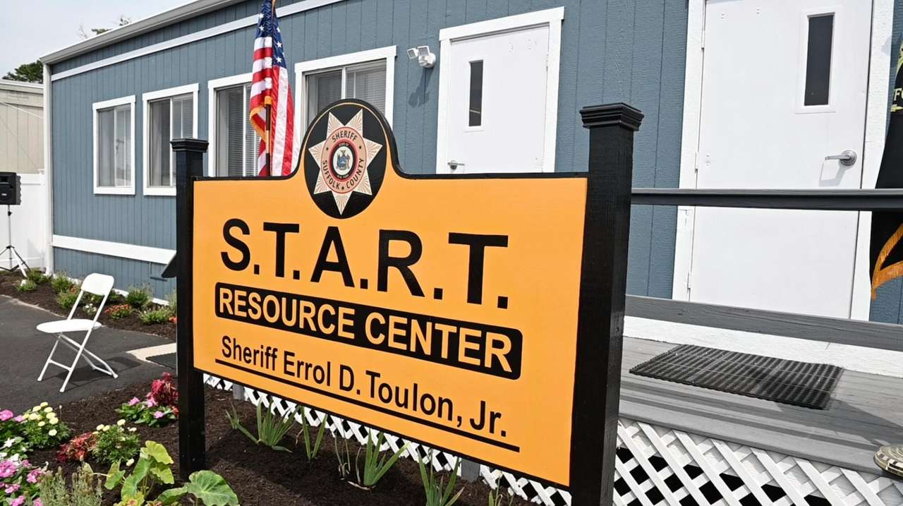 Suffolk County Sheriff Errol Toulon Jr. hosted a