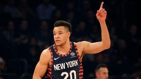 Kevin Knox is in town as Knicks prepare