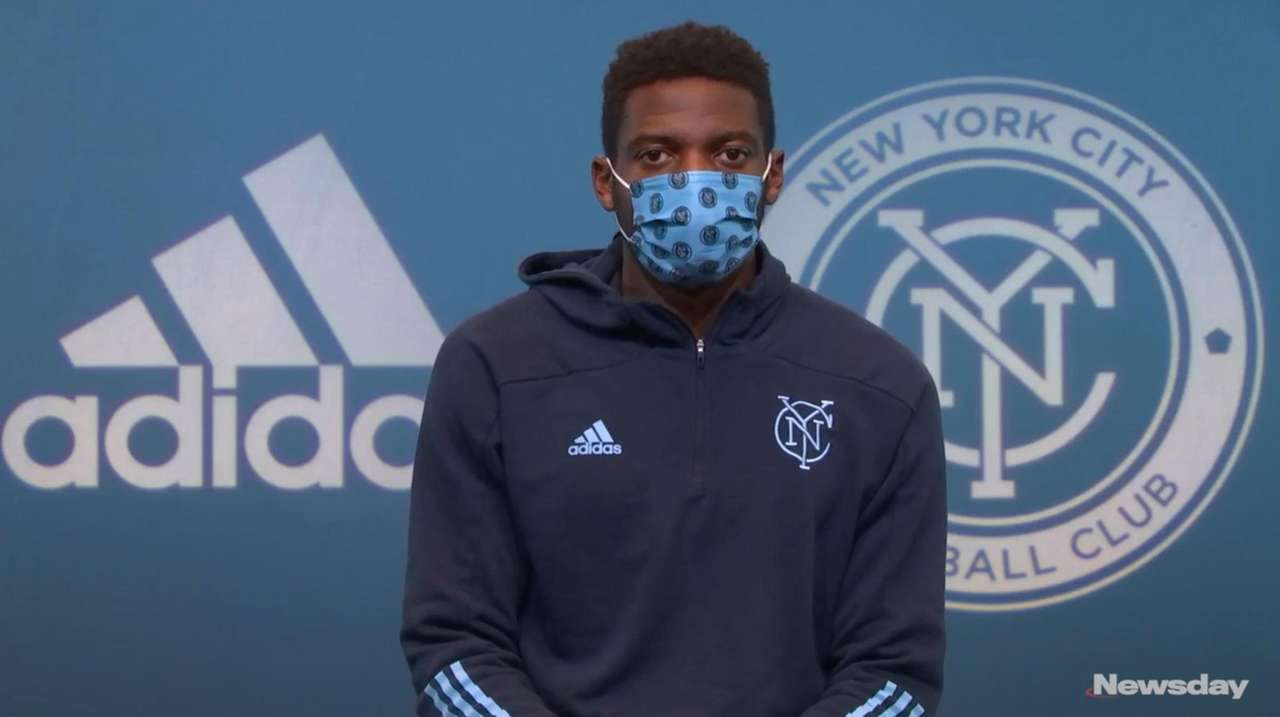 New York City FC goalkeeper Sean Johnson spoke