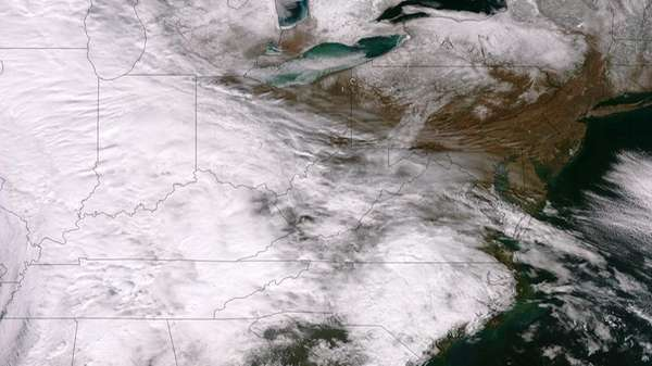 This satellite image taken by the NASA/NOAA Suomi